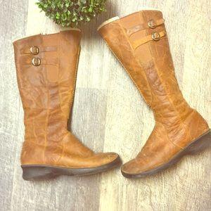 Keen bern baby bern leather side zip tall boots